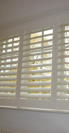 Plantation Shutters - Prestwich Bedroom - Silk White