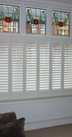 Plantation Shutters - Chorlton Café Style - Bay Window
