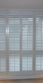 Plantation Shutters - Manchester Paint & Paper Ice IV