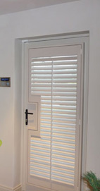 Plantation Shutters – Manchester Phoenix Shutters – Farrow & Ball Elephant's Breath
