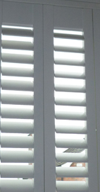 Plantation Shutters – Manchester Sunburst Shape
