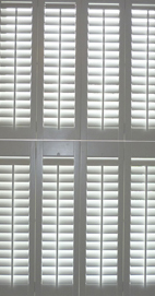Plantation Shutters – Manchester Tier-on-Tier Bay Window