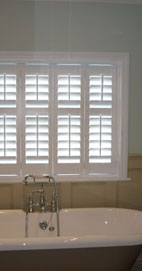 Plantation Shutters - Manchester Bathroom Shutter