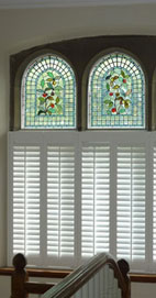 Plantation Shutters - Manchester Cafe Style Shutters