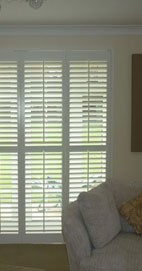 Plantation Shutters - Manchester French Door Shutters
