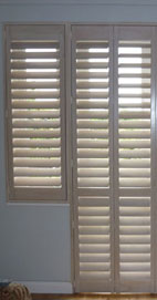 Plantation Shutters - Manchester French Window Shutter