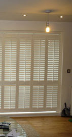Plantation Shutters - Manchester Living Room Shutters