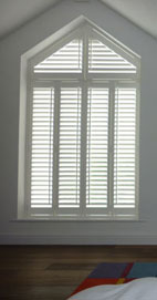 Plantation Shutters - Manchester Shaped Shutters